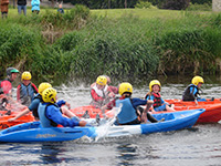 Kayaking in Meath Ireland